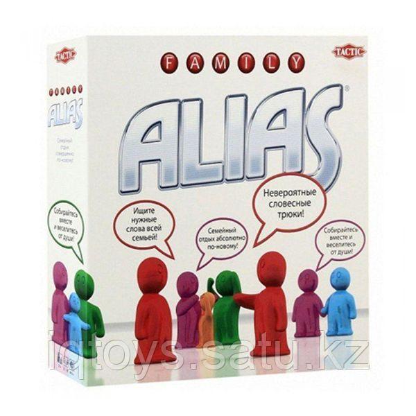 Настольная игра Alias Family (Элиас для всей семьи), Tactic (Тактик)