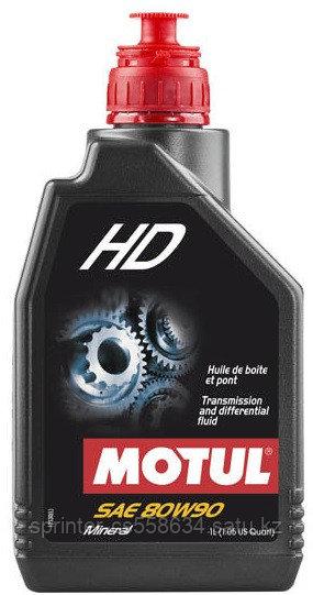 Трансмиссионное масло Motul HD 80w90 1 литр