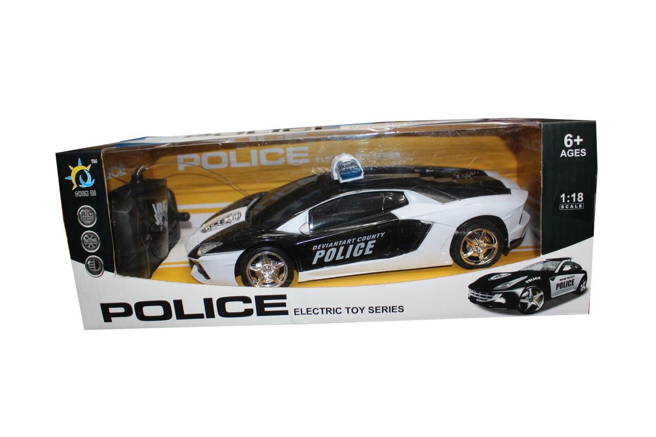 Р/У Машина CHEVROLET CORVETTE (полиция) СQ-024