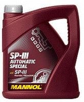 Трансмиссионное масло MANNOL ATF SP-III 4 литра