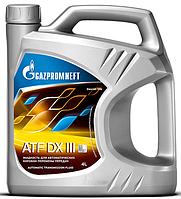 Трансмиссионное масло Gazpromneft ATF DX II 4 литра
