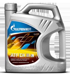 Трансмиссионное масло Gazpromneft ATF DX III 4 литра