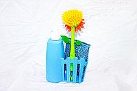 Набор для мыться посуды, синий, фото 1