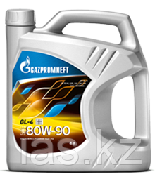 Трансмиссионное масло Gazpromneft SAE 80W90 GL-4 4 литра