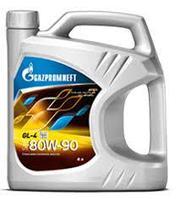 Трансмиссионное масло Gazpromneft SAE 80W90 GL-4 5 литров