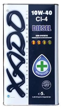 Моторное масло XADO CI-4 Diesel 10w40 5 литров
