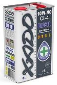 Моторное масло XADO CI-4 Diesel 10w40 4 литра