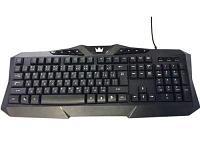 Проводная игровая мультимедийная клавиатура. CROWN MICRO CMK-5008T