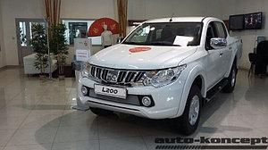 Защита радиатора Mitsubishi L200 V 2015- chrome