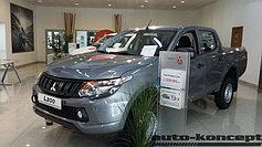 Защитно-декоративные решётки радиатора Mitsubishi L200 15-16+