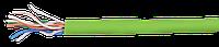 ITK Кабель связи витая пара U/UTP, кат.5E 4x2х24AWG solid, LSZH, 305м, зеленый