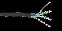 ITK Кабель связи витая пара F/UTP, кат.5E 2х2х24AWG solid, LDPE, 500м, черный, фото 1