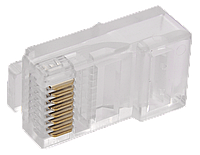 ITK Разъём RJ-45 UTP для кабеля кат.6, фото 1