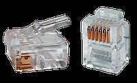 ITK разъём RJ12 UTP для кабеля кат.3, 6P4C, фото 1