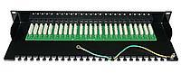 ITK 1U телефонная патч-панель кат.3, 50 портов (Krone)