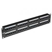 ITK 2U патч-панель кат.6 UTP, 48 порта (Dual IDC), фото 1