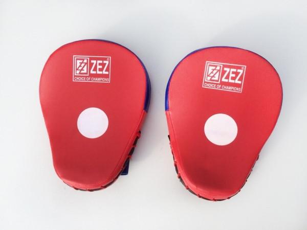 Боксерские лапы кожа  заменитель / дерматин
