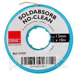 Медная оплетка для удаления припоя KONTAKT CHEMIE Soldabsorb No Clean 10м х 2,5 мм