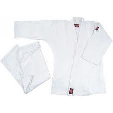 Кимоно для дзюдо белый 100 % хлопок - фото 4