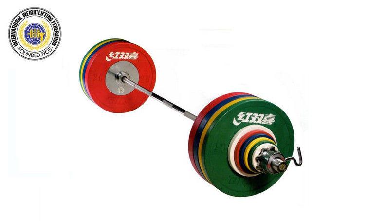 Штанга IWF муж. 190 кг трениров. черные