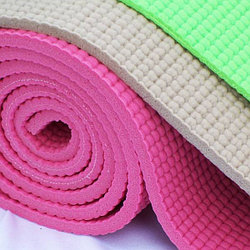 Коврик для фитнеса Yoga mat  173см /61см толщиной 6мм с чехлом