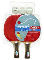 Набор ракетки Level 100- 2 ракетка 3 шарик