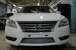Защита радиатора Nissan Sentra 2014- chrome