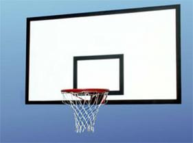 Щит баскетбольный тренировочный 120 х 80см