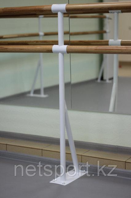 Балетный напольный двухрядный станок 3м-3,9 м