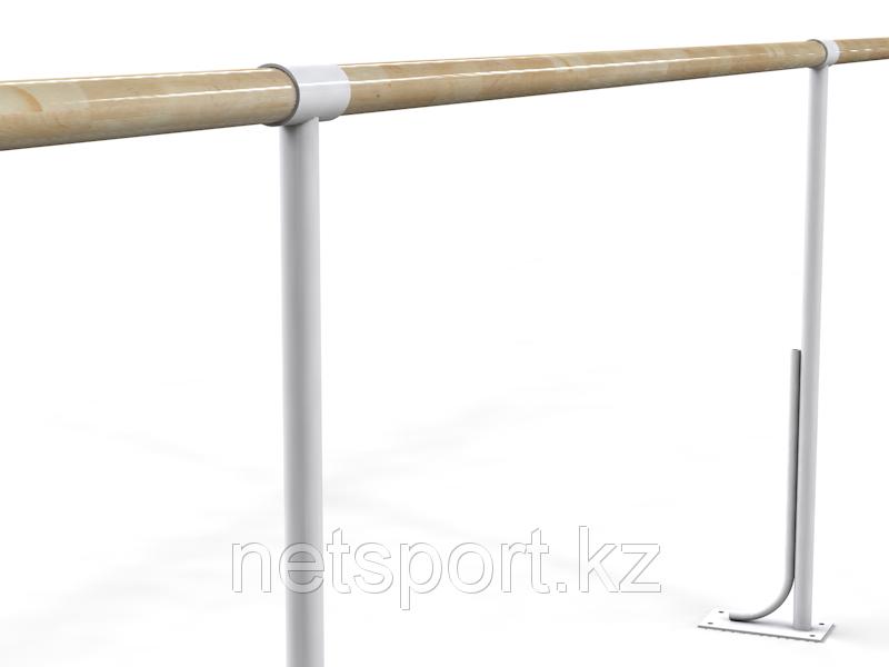 Балетный напольный однорядный станок 4м-5м