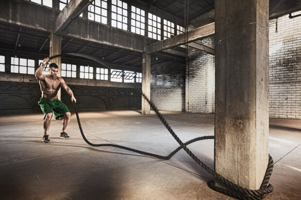 Канат для кроссфита 12 м диаметр 50мм