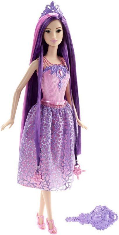 Кукла Barbie Принцесса с длинными волосами брюнетка