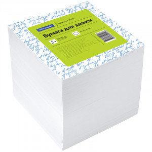 Блок для записи OfficeSpace, 9*9*9см, белый, фото 2