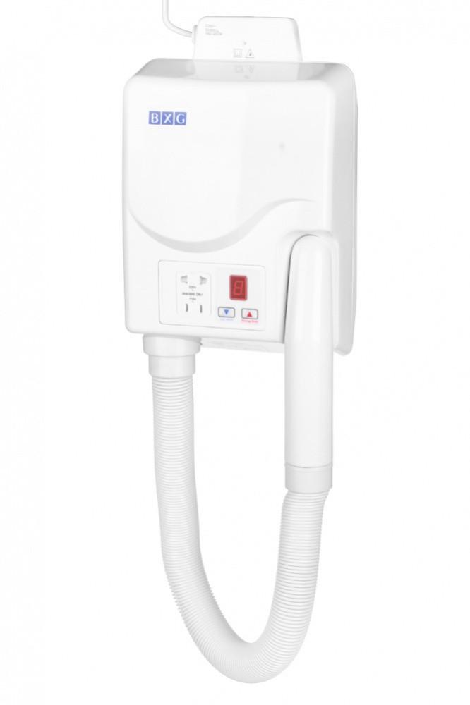 Фен для сушки волос BXG-2000A1 (настенный)
