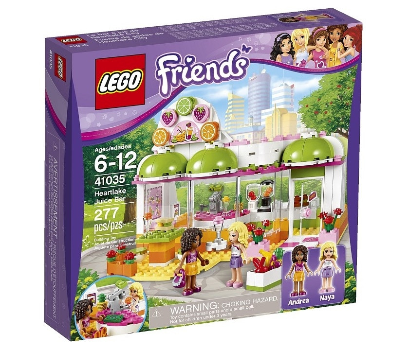 41035 Lego Friends Фреш-бар Хартлейк Сити, Лего Подружки