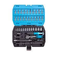 ВТ8103 - Набор торцевых головок и бит с аксессуарами, 46 предметов