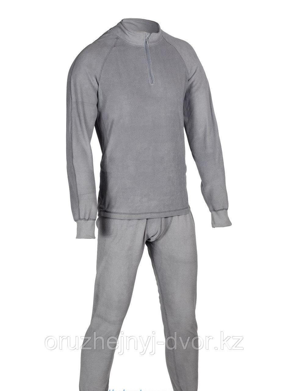 Термобелье HUNTSMAN ZIP тк.Флис, цв.серый, р-р 48-50