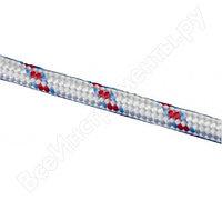 Плетеный 24-прядный полипропиленовый фал с сердечником 12мм, бухта 100м, 1000кгс СИБРТЕХ Россия 93968