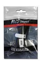 Кабель AVS micro USB 1m MR 331 плоский