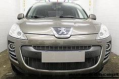 Защитно-декоративные решётки радиатора Peugeot 4007