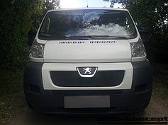 Защитно-декоративные решётки радиатора Peugeot Boxer 2006-