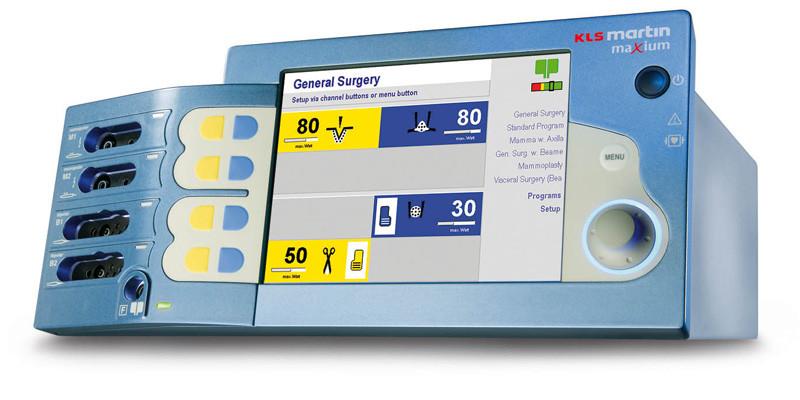 Электрохирургический аппарат ME 402 Maxium (электрокоагулятор), фирма Gebruder Martin / KLS Martin