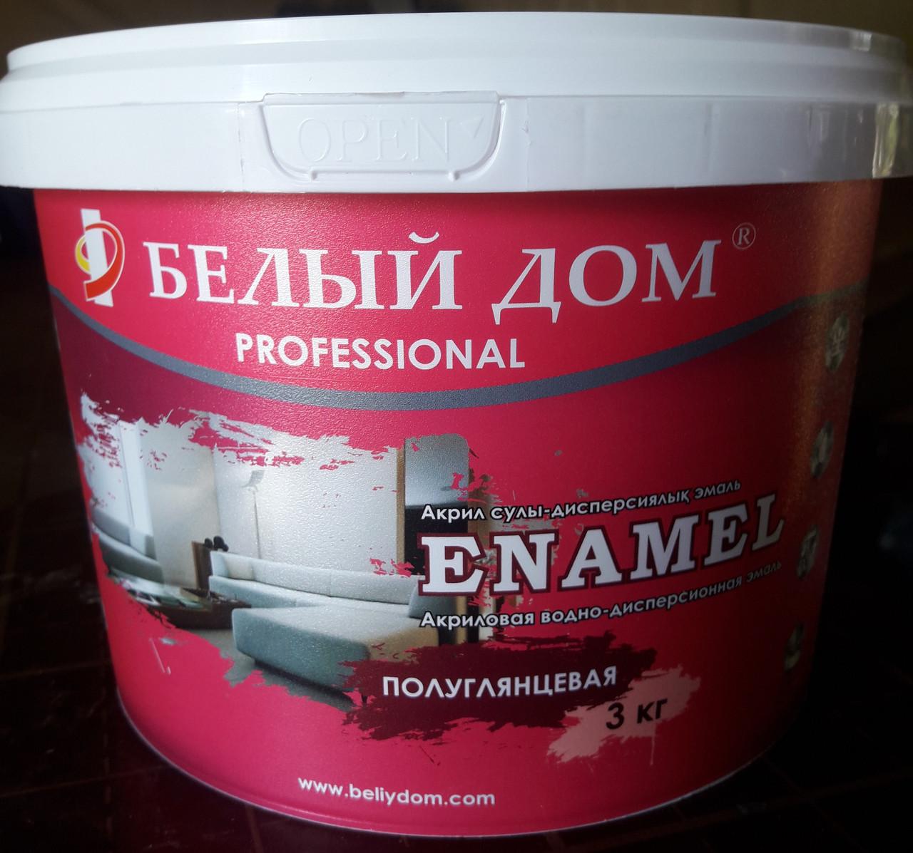"Краска ""Enamel"" 3 кг."