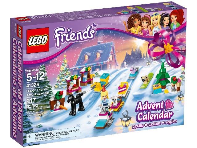 41326 Lego Новогодний календарь Friends с подарками