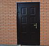 Утеплённая дверь штампованная