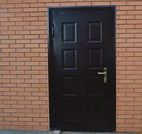 Утеплённая дверь штампованная, фото 1