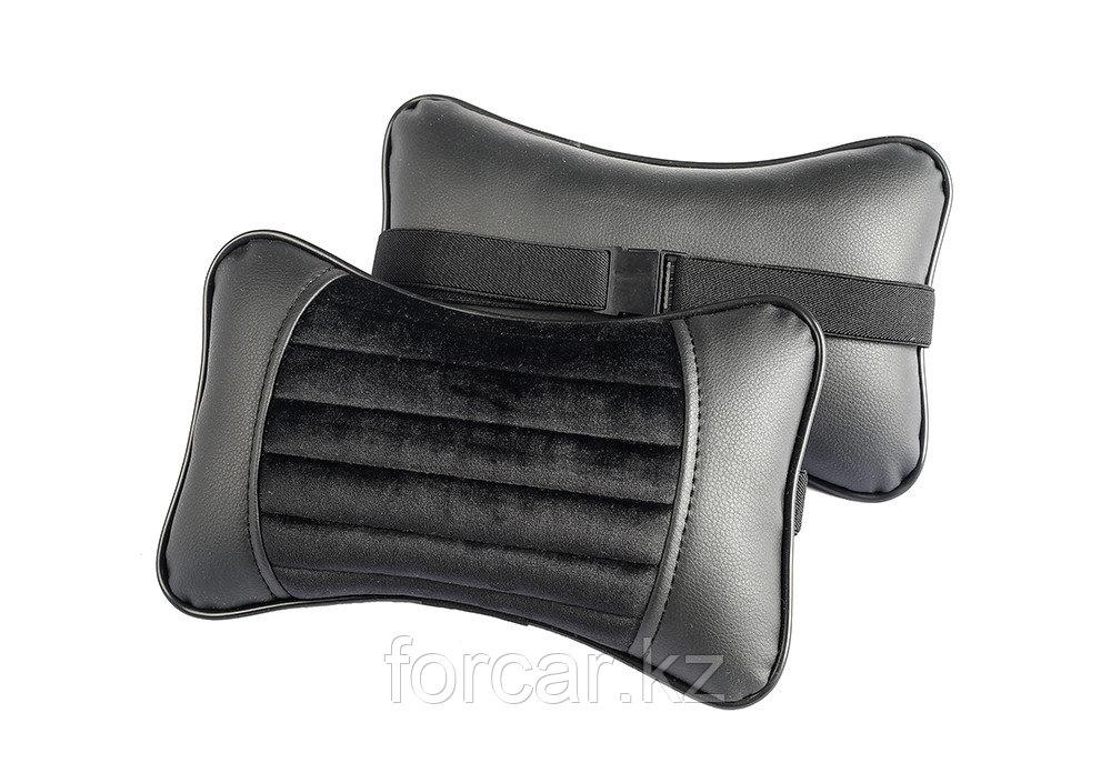 Подушка под шею «MONACO» черный/серый/серый/серый