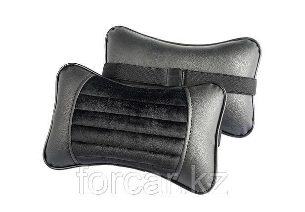 Подушка под шею «MONACO» черный/серый/серый/серый, фото 2