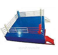 Ринг боксерский 5 х 5 м с помостом 6,1 х 6,1 х 0,5м гп59-22