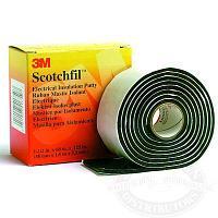 (80610833727) Scotchfil Электроизоляционная мастика, черная, 38мм х 1.5м